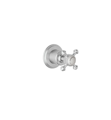 "Rohl U.3775-TO-APC Georgian Era 3/4"" Wall Valve Trim Only with Metal Cross Handle With Finish: Polished Chrome"