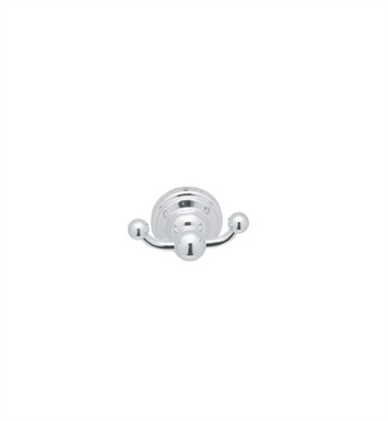 Rohl U.6922-IB Perrin & Rowe Double Hook Robe Hook With Finish: Inca Brass <strong>(SPECIAL ORDER, NON-RETURNABLE)</strong>