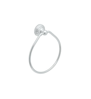 "Rohl U.6935-PN Perrin & Rowe 6"" Towel Ring With Finish: Polished Nickel"