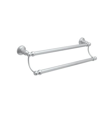 "Rohl U.6944-APC Perrin & Rowe 25 1/2"" Double Towel Bar With Finish: Polished Chrome"