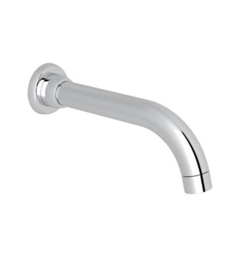 "Rohl U.3330 Perrin and Rowe Holborn 8 1/4"" Wall Mount Tubular Tub Spout without Diverter"