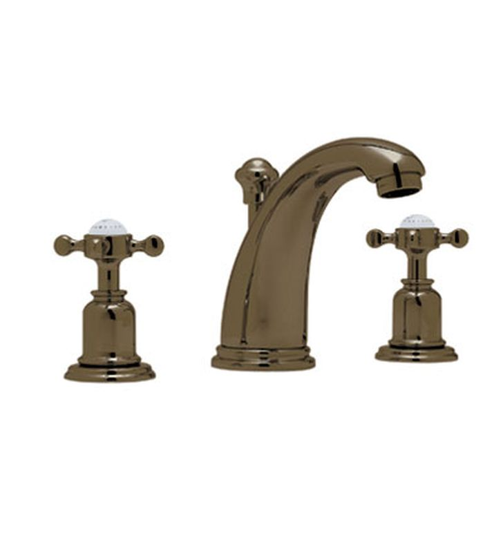Rohl Perrin Rowe Widespread Bathroom Faucet With Cross Handle