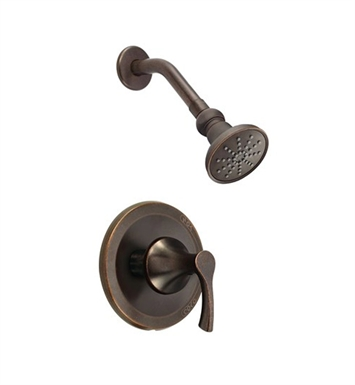 Danze D500522BRT Antioch™ Trim Only Single Handle Pressure Balance Shower Faucet in Tumbled Bronze