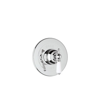 Rohl U.1000X-APC Perrin & Rowe Shower Valve Trim (Trim Only) With Finish: Polished Chrome And Handles: Edwardian Style Metal Cross Handles