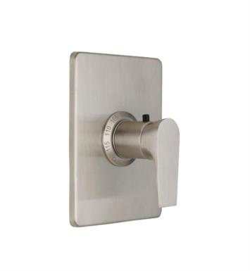 "California Faucets TO-THCN-E2-SS Diva 5 7/8"" StyleTherm Thermostatic Trim Only With Finish: Stainless Steel <strong>(USUALLY SHIPS IN 2-4 WEEKS)</strong>"