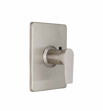"California Faucets TO-THCN-E2-SN Diva Styletherm 3/4"" Thermostatic Trim With Finish: Satin Nickel <strong>(USUALLY SHIPS IN 1-5 BUSINESS DAYS)</strong>"