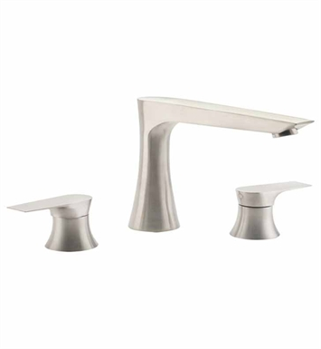California Faucets TO-E208-SC Diva Roman Tub Trim Set With Finish: Satin Chrome <strong>(USUALLY SHIPS IN 1-3 WEEKS)</strong>