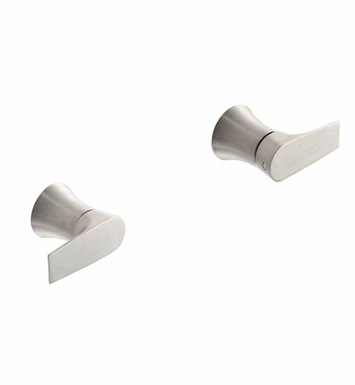 California Faucets TO-E206L Diva Two Handle Tub and Shower Trim