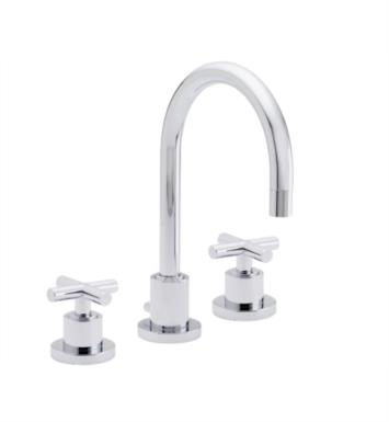 "California Faucets 6502-PC Tiburon 7 5/8"" Double Handle Widespread Bathroom Sink Faucet With Finish: Polished Chrome <strong>(USUALLY SHIPS IN 1-5 BUSINESS DAYS)</strong>"