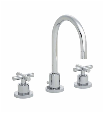 California Faucets 6502-SS Tiburon Widespread Lavatory Faucet With Finish: Stainless Steel <strong>(USUALLY SHIPS IN 2-4 WEEKS)</strong>
