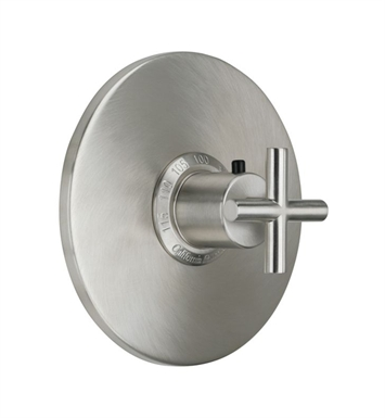 "California Faucets TO-THN-65-SN Tiburon Styletherm 3/4"" Thermostatic Trim With Finish: Satin Nickel <strong>(USUALLY SHIPS IN 1-5 BUSINESS DAYS)</strong>"