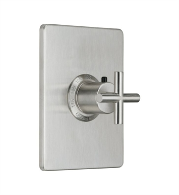 "California Faucets TO-THCN-65-WHT Tiburon Styletherm 3/4"" Thermostatic Trim With Finish: White <strong>(USUALLY SHIPS IN 1-3 WEEKS)</strong>"