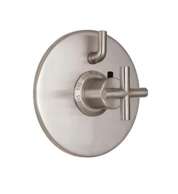 "California Faucets TO-TH1L-65-PEW Tiburon 7 1/4"" Styletherm Trim with Single Volume Control With Finish: Pewter <strong>(USUALLY SHIPS IN 1-3 WEEKS)</strong>"