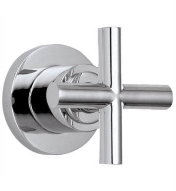 "California Faucets TO-65-W-WHT Tiburon 2 3/8"" Wall or Deck Mounted Handle Trim Only With Finish: White <strong>(USUALLY SHIPS IN 1-3 WEEKS)</strong>"