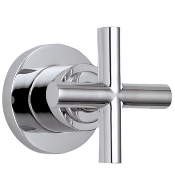 California Faucets TO-65-W-PBU Tiburon Wall or Deck Handle Trim With Finish: Polished Brass Uncoated <strong>(USUALLY SHIPS IN 3-9 BUSINESS DAYS)</strong>