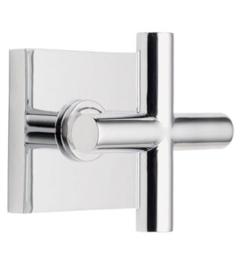 "California Faucets TO-65-WC-PN Tiburon 2 1/4"" Wall Mount Trim with Square Base Ring With Finish: Polished Nickel <strong>(USUALLY SHIPS IN 5-12 BUSINESS DAYS)</strong>"