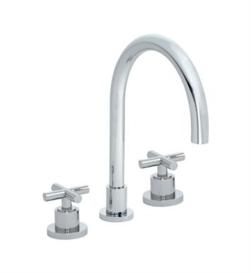 "California Faucets TO-6508-SN Tiburon 10 5/8"" Two Handle Widespread/Deck Mounted Roman Tub Trim Faucet With Finish: Satin Nickel <strong>(USUALLY SHIPS IN 1-5 BUSINESS DAYS)</strong>"