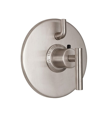 California Faucets TO-TH1L-66-SS Montara Styletherm Trim with Single Volume Control With Finish: Stainless Steel <strong>(USUALLY SHIPS IN 2-4 WEEKS)</strong>