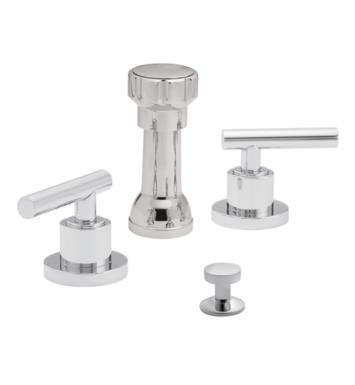 "California Faucets 6604-PN Montara 5 3/8"" Widespread/Deck Mounted Bidet Faucet Set With Finish: Polished Nickel <strong>(USUALLY SHIPS IN 5-12 BUSINESS DAYS)</strong>"