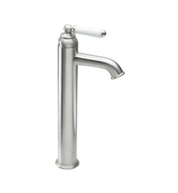 "California Faucets 3501-2-PBU Belmont 6"" Single Handle Vessel Bathroom Sink Faucet With Finish: Polished Brass Uncoated <strong>(USUALLY SHIPS IN 3-9 BUSINESS DAYS)</strong>"