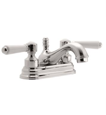 "California Faucets T3501-PN Belmont 6"" Double Handle Centerset Bathroom Sink Faucet With Finish: Polished Nickel <strong>(USUALLY SHIPS IN 5-12 BUSINESS DAYS)</strong>"