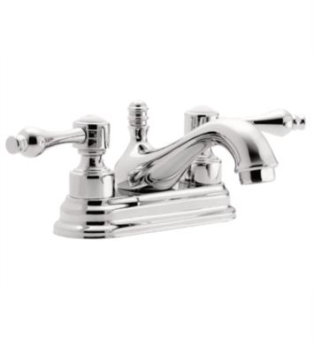 "California Faucets T3601-BLKN Encinitas 6"" Double Handle Centerset Bathroom Sink Faucet With Finish: Black Nickel <strong>(USUALLY SHIPS IN 3-5 WEEKS)</strong>"