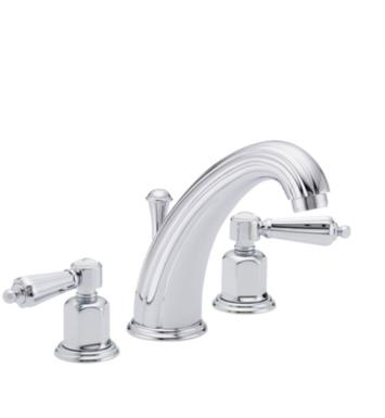"California Faucets 6802-BIS San Clemente 7 1/8"" Double Handle Widespread Bathroom Sink Faucet With Finish: Biscuit <strong>(USUALLY SHIPS IN 1-3 WEEKS)</strong>"