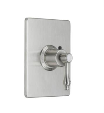 "California Faucets TO-THCN-36-PEW Encinitas 5 7/8"" StyleTherm Thermostatic Trim Only With Finish: Pewter <strong>(USUALLY SHIPS IN 1-3 WEEKS)</strong>"
