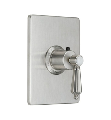 "California Faucets TO-THCN-68-BIS San Clemenete Styletherm 3/4"" Thermostatic Trim With Finish: Biscuit <strong>(USUALLY SHIPS IN 1-3 WEEKS)</strong>"