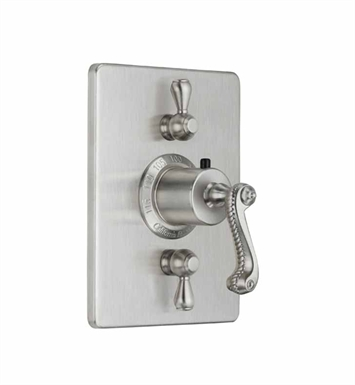 California Faucets TO-THC2L-38-LSG Styletherm Trim with Dual Volume Control With Finish: Lifetime Satin Gold <strong>(USUALLY SHIPS IN 3-5 WEEKS)</strong>