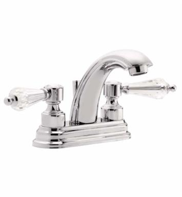 "California Faucets 6901-GRP Crystal Cove 5 7/8"" Double Handle Centerset J-Spout Bathroom Sink Faucet With Finish: Graphite <strong>(USUALLY SHIPS IN 3-5 WEEKS)</strong>"