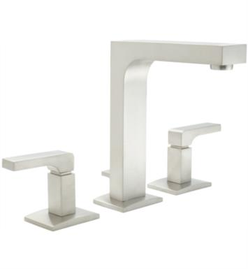 "California Faucets 7002-PN Solimar 7 1/4"" Double Handle Widespread Bathroom Sink Faucet With Finish: Polished Nickel <strong>(USUALLY SHIPS IN 5-12 BUSINESS DAYS)</strong>"