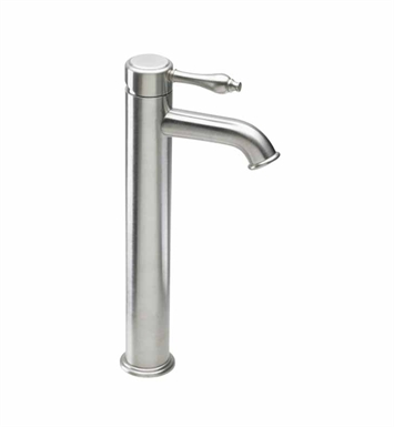 California Faucets 4201-2-SS Huntington Single Hole High Lavatory Faucet With Finish: Stainless Steel <strong>(USUALLY SHIPS IN 2-4 WEEKS)</strong>