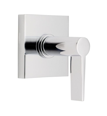 California Faucets TO-71-WC-BIS Palos Verdes Wall or Deck Handle Trim with Square Base Ring With Finish: Biscuit <strong>(USUALLY SHIPS IN 1-3 WEEKS)</strong>