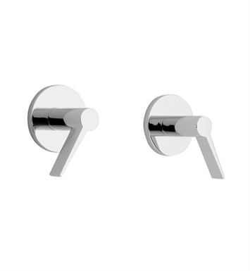 California Faucets TO-7106L-PC Palos Verdes Two Handle Tub and Shower Trim With Finish: Polished Chrome <strong>(USUALLY SHIPS IN 1-5 BUSINESS DAYS)</strong>