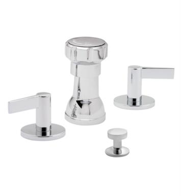 "California Faucets 7104-PRB Palos Verdes 5 3/8"" Widespread/Deck Mounted Bidet Faucet Set With Finish: Polished Rose Bronze <strong>(USUALLY SHIPS IN 3-5 WEEKS)</strong>"