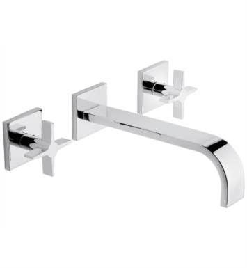 "California Faucets TO-V7202-9-RBZ Aliso 8 5/8"" Double Handle Wall Mount/Vessel Bathroom Sink Faucet Trim With Finish: Rustico Bronze <strong>(USUALLY SHIPS IN 1-2 WEEKS)</strong>"
