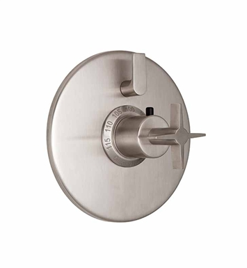 California Faucets TO-TH1L-72-SS Aliso Styletherm Trim with Single Volume Control With Finish: Stainless Steel <strong>(USUALLY SHIPS IN 2-4 WEEKS)</strong>