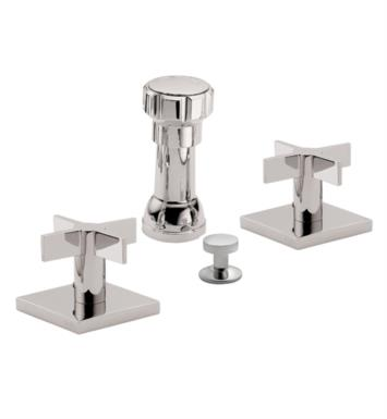"California Faucets 7204-BLKN Aliso 5 3/8"" Widespread/Deck Mounted Bidet Faucet Set With Finish: Black Nickel <strong>(USUALLY SHIPS IN 3-5 WEEKS)</strong>"