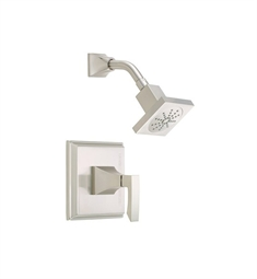 Danze Logan Square™ Trim Only Single Handle Pressure Balance Shower Faucet in Brushed Nickel