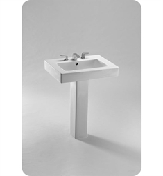 TOTO Pedestal Lavatory with SanaGloss®