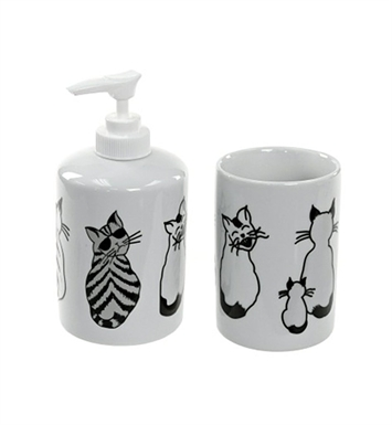 Nameeks LARA500 Gedy Bathroom Accessory Set