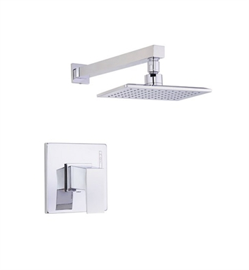 Danze D502562T Mid-town™ Trim Only Single Handle Pressure Balance Shower Faucet in Chrome