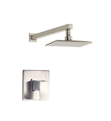 Danze D502562BNT Mid-town™ Trim Only Single Handle Pressure Balance Shower Faucet in Brushed Nickel