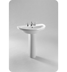TOTO LPT325G Pedestal Lavatory with SanaGloss®