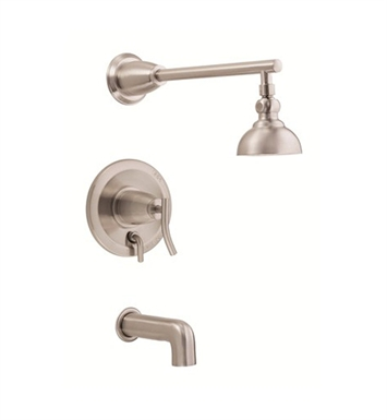 Danze D504054BNT Sonora™ Trim Only Single Handle Pressure Balance Tub & Shower Faucet in Brushed Nickel