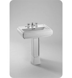 TOTO Ethos™ Design NI Pedestal Lavatory with SanaGloss®
