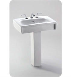 TOTO Ethos™ Design C Pedestal Lavatory with SanaGloss®