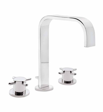 California Faucets 7302-MBLK Jalama Widespread Lavatory Faucet With Finish: Matte Black <strong>(USUALLY SHIPS IN 5-12 BUSINESS DAYS)</strong>