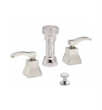 "California Faucets 4404-PVD Avila 5 3/8"" Widespread/Deck Mounted Bidet Faucet Set With Finish: Polished Brass <strong>(USUALLY SHIPS IN 1-3 WEEKS)</strong>"